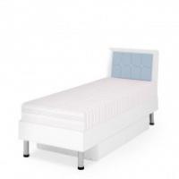 Кровать Ниагара голубая
