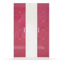Шкаф Ниагара розовый