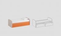 Кровать детская КД-06