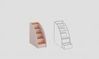 Лестница приставная ЛП-02