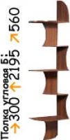 Полка угловая Б КМК 0320.4 Клеопатра