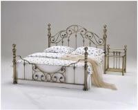 Кровать Н9203 140/200 бронза