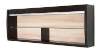 Полка со стеклом СТЛ.078.10 Дуб феррара/Ясень
