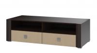 Тумба под TV с 2-мя ящиками СТЛ.077.13 Венге/Венге светлый