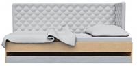 Тотэм СТЛ.047.03 Кровать Бук/Платина