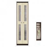 Шейла СТЛ.502 Фасад со стеклом для шкафа Дуб белёный
