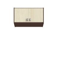 Шейла СТЛ.801 Фасад для антресоли Дуб белёный