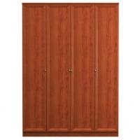 Юлианна СБ-040 Шкаф 4-дверный Вишня барселона