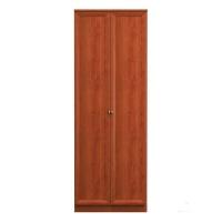 Юлианна СБ-102 Шкаф 2-х дверный Вишня барселона