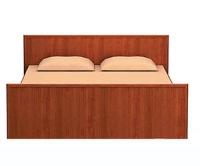 Юлианна СБ-229 Кровать L-1400 Вишня барселона
