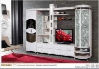 Шкаф комбинированный Орфей-11 КМК 0364 белый