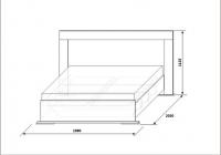 Кровать Нимфа КМК 0383.2