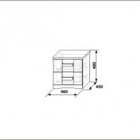 Тумба Нимфа КМК 0383.4