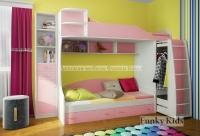 Двухъярусная кровать Фанки Кидз 12 СВ