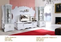 Шкаф с витриной Невеста 2 КМК 0394.3