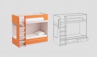 Кроватный модуль КМ-01