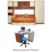 Детская комната КАТЮША с матрасом и со столом
