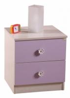 Тумба прикроватная lilac