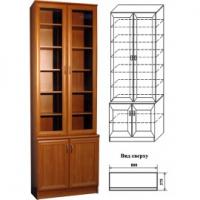 Шкаф для книг 06 арт.402