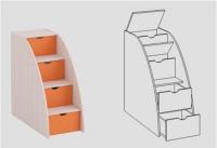 Лестница приставная ЛП-01