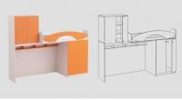 Кроватный модуль КМ-05