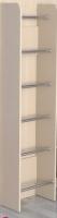 Лестница ступеньки труба хром Славмебель