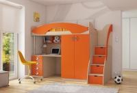 Детская кровать чердак Мики 6 РМК Модульная