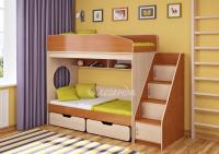Кровать двухъярусная Легенда 10 комплектация 3