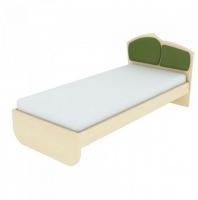 Кровать К 1-6 (80*200) с накладкой