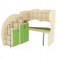Мебельный комплект МК Л 42, МК П 41 (лестница слева)