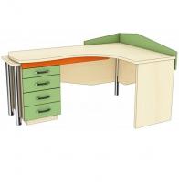 Письменный стол СРЛ 1-12, СРП 1-11 (раздвижной)