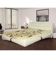 Кровать кожаная K1631 180Х200 см