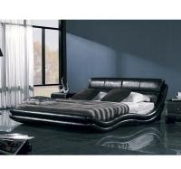Кровать кожаная K1377 160Х200 см