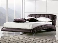 Кровать кожанная К6662
