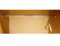 Штанга к шкафу для одежды 2х дверный ИД 01.136в