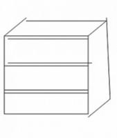 Комод встроенный к шкафу ИД 01.119а