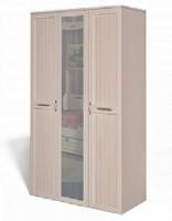 Шкаф для платья и белья 3х дв. ИД 01.57