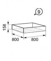 Прикроватный контейнер 09 Браво