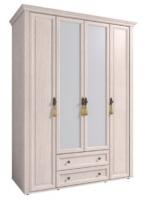 Шкаф для одежды и белья 2 с карнизом Монтпелье