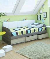 Кровать №12 + СМ белая №7 МДК 4.11