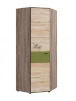 Шкаф для белья и платья угловой №128 МДК 4.14