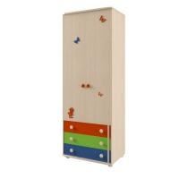 Шкаф для белья и платья №111 МДК 4.13