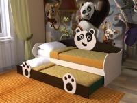 Детская кровать Панда 7