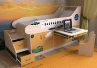 Детская кровать Самолет