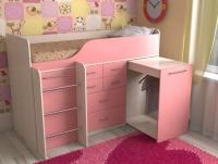Детская кровать чердак Кузя 8