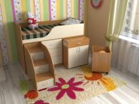 Детская кровать Кузя 7