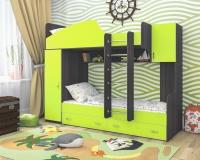 Кровать двухъярусная (чердак) ЮНИОР 2