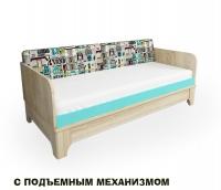 Кровать Индиго большая с подъемным механизмом