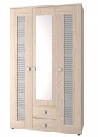 Шкаф для одежды трехдверный Саша Модерн ИД 01.67