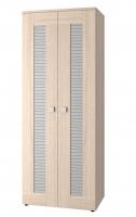 Шкаф для одежды двухдверный Саша Модерн ИД 01.65